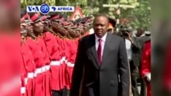 Perezida Uhuru Kenyatta Yahamagariye Inteko Ishingamategeko ya Kenya Kwirinda Amacakubiri