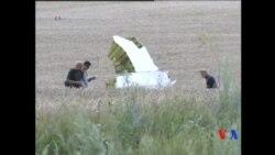 2014-08-03 美國之音視頻新聞: 國際調查組繼續在繼續尋找馬航遇難者遺骸