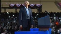 奥巴马告别演说呼吁团结参与民主
