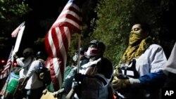 Protesti u Portlandu, u Oregonu