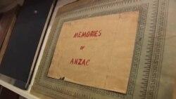 نمایشگاهی از عکس ها و دفترچه های خاطرات سربازان استرالیایی