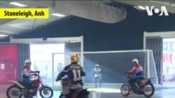 Motoball: Đức đánh bại Pháp ở Stoneleigh, Anh