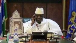 岡比亞總統賈梅拒絕接受選舉結果