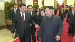 China recibe con pompa y estilo a Kim Jong Un