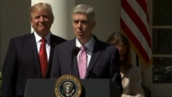 Gorsuch 'Humbled' by SCOTUS Appointment