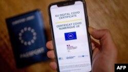 Uni Eropa secara resmi meluncurkan sertifikat digital COVID-19.