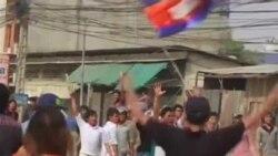 柬埔寨抗議者與警察爆發衝突三人死亡