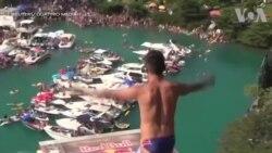 Thi nhảy vách đá ở Thụy Sĩ