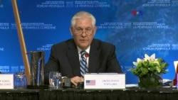 Tillerson: total desnuclearización de Corea del Norte