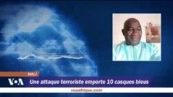 Une attaque terroriste emporte 10 casques bleus