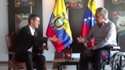 2019-03-04 美國之音視頻新聞: 委內瑞拉反對派領袖結束外訪 預期回國時被捕