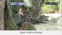 Israel và Hamas tiếp tục giao chiến ở Gaza (VOA60)