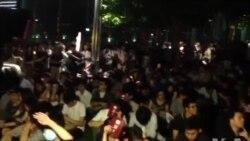 香港民族党举行独派造势集会警方戒备