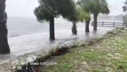 """熱帶風暴""""艾爾莎""""在北佛羅里達州登陸"""