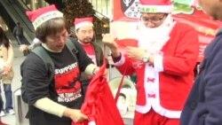 港人寄圣诞卡慰问中国狱中异见人士