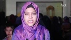 شکایت دو تن از دختران جوان رای دهنده از روند انتخابات در مزار شریف