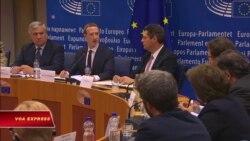 'Ông chủ' Facebook đối mặt với lãnh đạo châu Âu