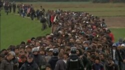 Rain, Cold Add to Misery of Migrants On Balkan Route