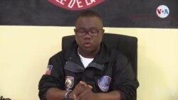 Pòt Pawòl Adjwen PNH la Garry Desrosiers bay detay sou operasyon enstitisyon an mennen pandan mwa Jiyè a