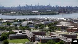 Zatvor na ostrvu Rikers u New Yorku