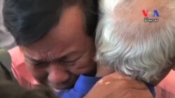 Emotional Scene Follows Khmer Rouge Guilty Verdicts