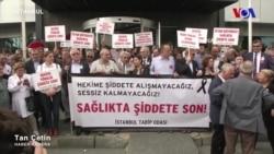 İstanbul Tabip Odası Doktor Cinayetini Protesto Etti