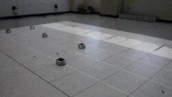 Robots hacen trabajo en equipo
