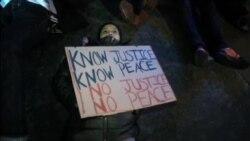 ادامه تظاهرات اعتراضی مردم آمریکا
