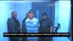 Dylann Roof Makes First Court Appearance