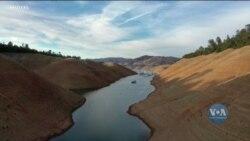 Посуха у Каліфорнії - критично знизилися рівні прісної води. Відео