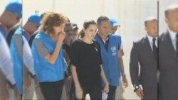 Actress Jolie Pitt Tells of Syrian Refugees' Suffering
