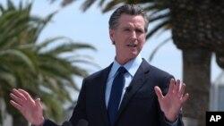 Thống đốc California Gavin Newsom.