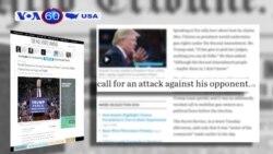 Ông Donald Trump ra điều kiện cho các cuộc tranh luận tổng tuyển cử (VOA60)