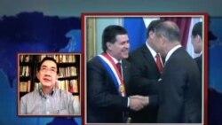 VOA连线:记者观察: 马英九出席巴拉圭总统就职仪式