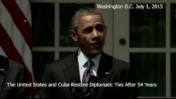 US, Cuba Diplomatic Ties Restored, Yet Some Obstacles Remain