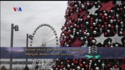 Kemeriahan Natal 2016 di Amerika Serikat (1)