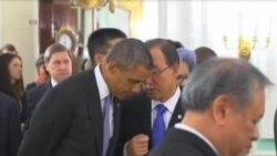 VOA连线:外交努力 美俄中协商联合国决议案;911与班加西被袭周年 白宫延长国家紧急法