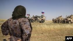 AQSh va Rossiya harbiylari, Suriyaning Malikiya shahri