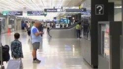 غربال مسافران ۵ فرودگاه عمده آمریکا برای مبارزه با بیماری ایبولا