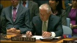 Держсекретар США Тіллерсон відзначив Україну за відмову від ядерної зброї. Відео