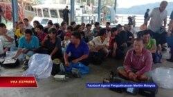 Malaysia bắt giữ 123 ngư dân Việt