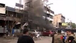 2015-02-17 美國之音視頻新聞: 巴基斯坦自殺爆炸事件導致5人喪生
