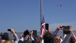 Cubanos reaccionan tras visita de Kerry