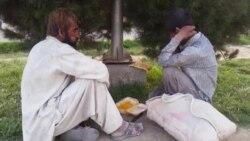 نوع خوراک معتادان در ولایت هرات