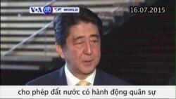 Nhật thông qua dự luật về hành động quân sự ở nước ngoài (VOA60)
