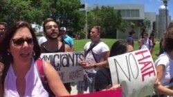 Miami protesta pro-inmigrantes