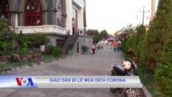Giáo dân đi lễ mùa dịch corona