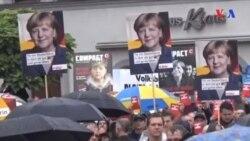 Merkel Almaniya seçkilərinin favoritidir