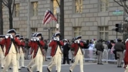 美国总统就职典礼上的独特传统--横笛与鼓乐队