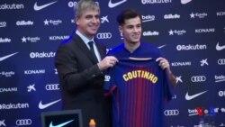 Coutinho signe au FC Barcelone (vidéo)